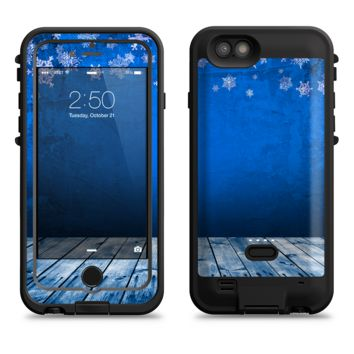 The Snowy Blue Wooden Dock  iPhone 6/6s Plus LifeProof Fre POWER Case Skin Kit