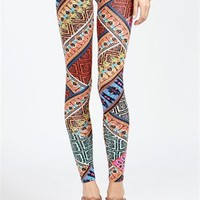 A'GACI Colorful Tribal Legging - BOTTOMS