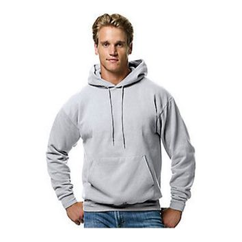 Men's Ecosmart Fleece Pullover Hoodie with Front Pocket - Walmart.com