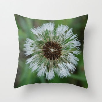 Spring Green Pillow Cover White Pillow Covers Shabby Chic Home Decor Flower Photo Pillow Cotton Decorative Pillow Cover