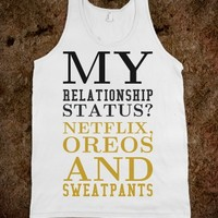 MY RELATIONSHIP STATUS TANK TOP TEE T SHIRT
