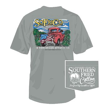 One Piece at a Time Tee in Chicken Wire by Southern Fried Cotton
