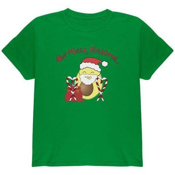 PEAPGQ9 Avo Have A Merry Christmas Avocado Cute Funny Pun Youth T Shirt