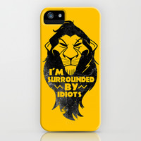 Surrounded by Idiots iPhone & iPod Case by LookHUMAN