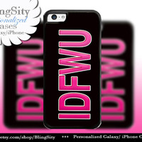IDFWU Popular Lyrics Hip Hop iPhone 5C 6 Case Plus iPhone 5s 4 Ipod 4 5 Touch case Personalized