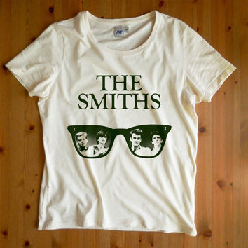 The Smiths Men T-Shirt The Smiths Morrissey Alternative Rock and Roll 80's Vintage Retro