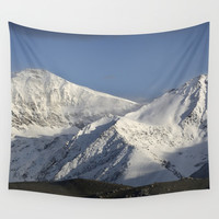 Hight snowy mountains. 3489 meters Wall Tapestry by Guido Montañés