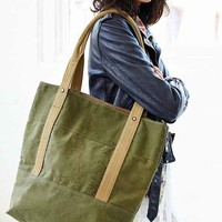 Forestbound Military Tote Bag- Olive One