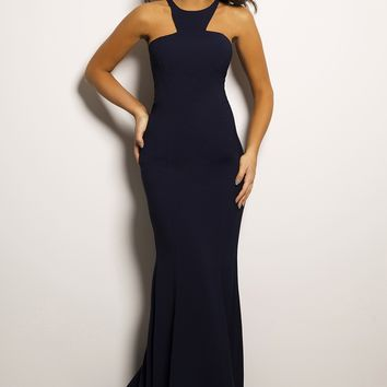 Long Sleeveless Jersey Dress 26968 - Prom Dresses