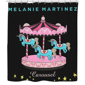 Melanie Martinez shower curtain