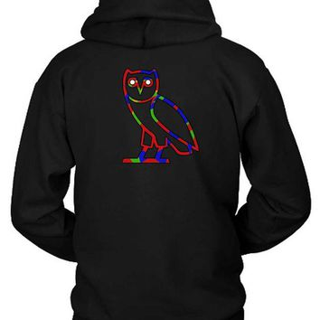 DCCKG72 Ovo Colorize Cover Logo Hoodie Two Sided