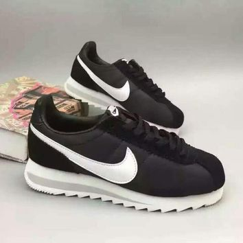 """NIKE"" Fashionable Personality Casual Black Sneakers Elevator Shoes"