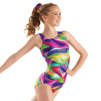Metallic Multi-Colored Gymnastics Leotard - Balera