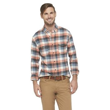 Merona Men's Plaid Flannel Shirt