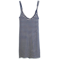 Humanoid Unna Stripe Tank in Nightshade Stripe | Les Pommettes