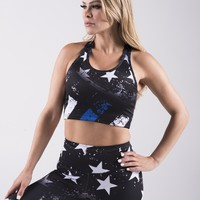 Thin Blue Line Sports Bra