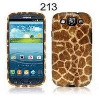 Amazon.com: TaylorHe Giraffe Print Patterns Samsung Galaxy S3 Hard Case Printed Samsung Galaxy S3 Cases UK MADE All Around Printed on Sides 3D Sublimation Highest Quality: Cell Phones & Accessories