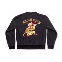 Dragon Diamond Racer Jacket in Black