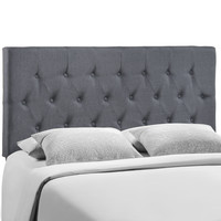 Clique Queen Headboard in Smoke