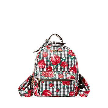 GINGHAM STYLE BACKPACK: Betsey Johnson