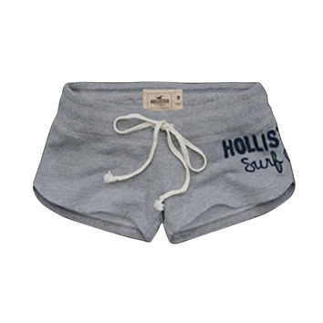 Summer Active Gym Sport Exercise Workout Hiking Yoga Hot Shorts/ Gray