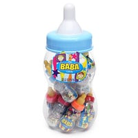 The BaBa Candy Filled Baby Bottles Jumbo Container - Blue