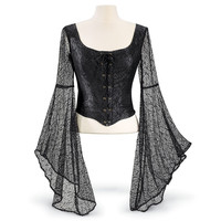 Nightingale Top - New Age, Spiritual Gifts, Yoga, Wicca, Gothic, Reiki, Celtic, Crystal, Tarot at Pyramid Collection