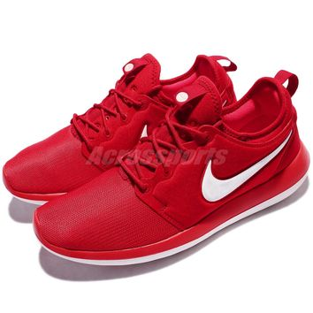 Nike Roshe Two 2 Rosherun Red White Men Running Shoe Sneakers Trainer 844656-601