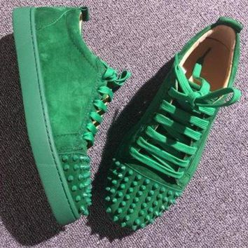 PEAPNW6 Cl Christian Louboutin Low Style #2073 Sneakers Fashion Shoes