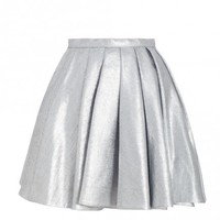 Ringmaster Chrome Skirt - Ready To Wear - The Latest