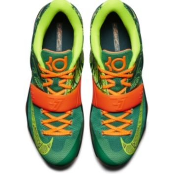 Nike Men's KD VII Basketball Shoes - Orange/Green | DICK'S Sporting Goods