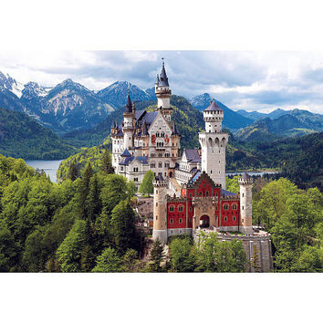 Buffalo Games 2000 Piece Jigsaw Puzzle - Bavarian Castle