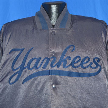 90s New York Yankees Deadstock Satin Jacket Large