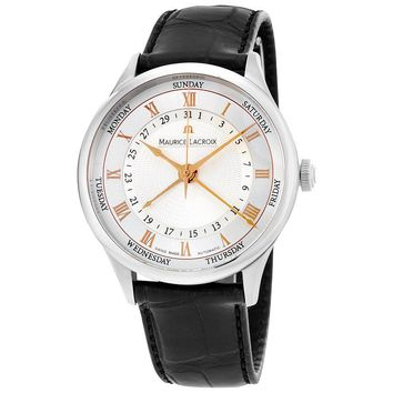 Maurice Lacroix Stainless Steel Mens Watch MP6507-SS001-111