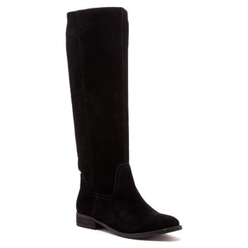 Sole Society Kellini Slouchy Tall Suede Boot
