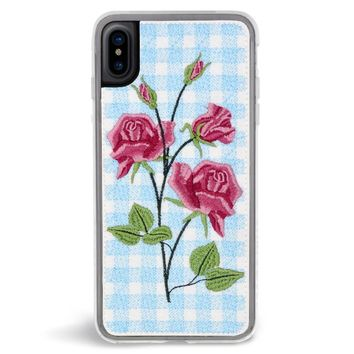 Bardot Embroidered iPhone X Case