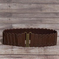 Perforated Stretch Belt