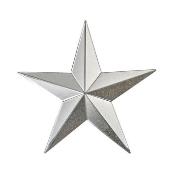 Wishmaker Antiqued 18-Inch Mirrored Star Wall Decor Antique Mirror