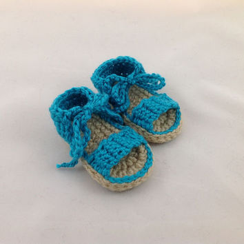 Baby Sandals - Crochet Baby Sandals - Baby Flip Flops - Baby Girl Sandals - Flip Flops - Summer Baby - Baby Shower Gift