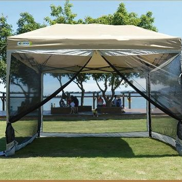 Grntamn High - Density Environmental Protection Network Anti - Mosquito Nets Pest Folding Tent Oudoor Family Party Gazebo Tent