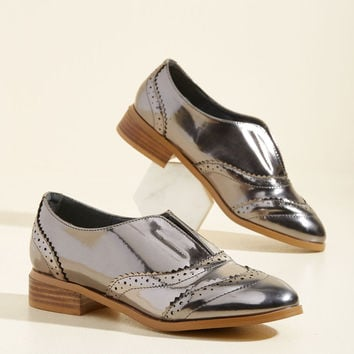 Downtown Update Oxford Flat | Mod Retro Vintage Flats | ModCloth.com