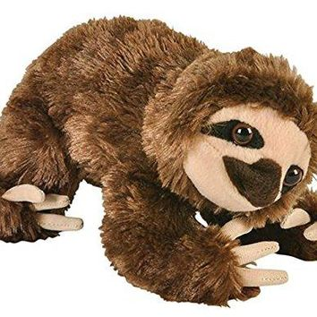 "Wildlife Tree 8"" Sloth Brown Stuffed Animal Plush Floppy Zoo Animal Den Collection"