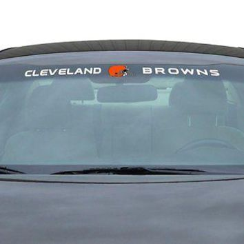 Cleveland Browns NFL Licensed Auto Car Truck Windshield Decal