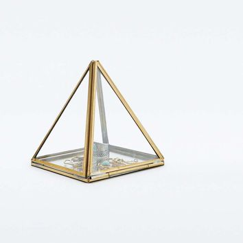 Pyramid Glass Box - Urban Outfitters