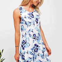 Cupshe Dream State Fresh Floral Dress