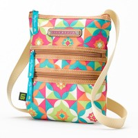 Lily Bloom Graphic Print Crossbody Bag