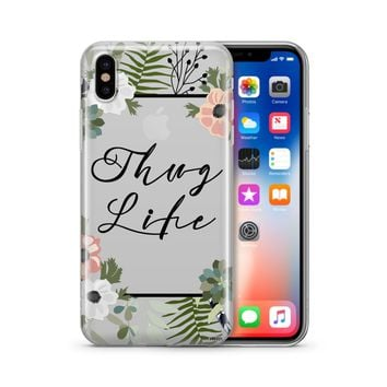 Thug Life - Clear Case Cover