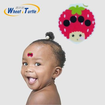 1 Pcs Forehead Sticker Body Fever Baby Thermometers Lcd Digital No Mercury Plastic Celsius Medical Thermometers For Children