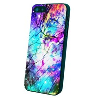 Galaxy Nebula for All Cracked Custom Case for Iphone 5/5s