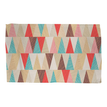 Modern Triangles Rug
